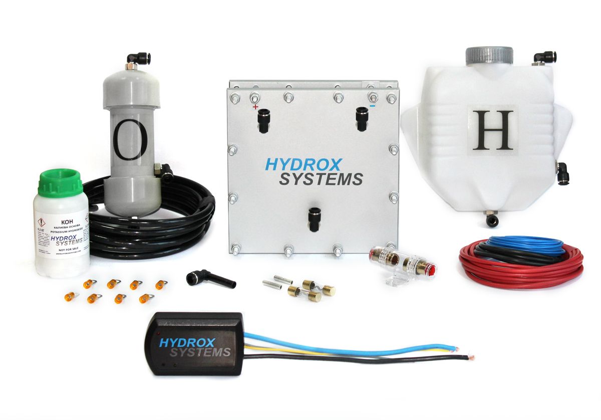 pure hydrogen kit for petrol engine
