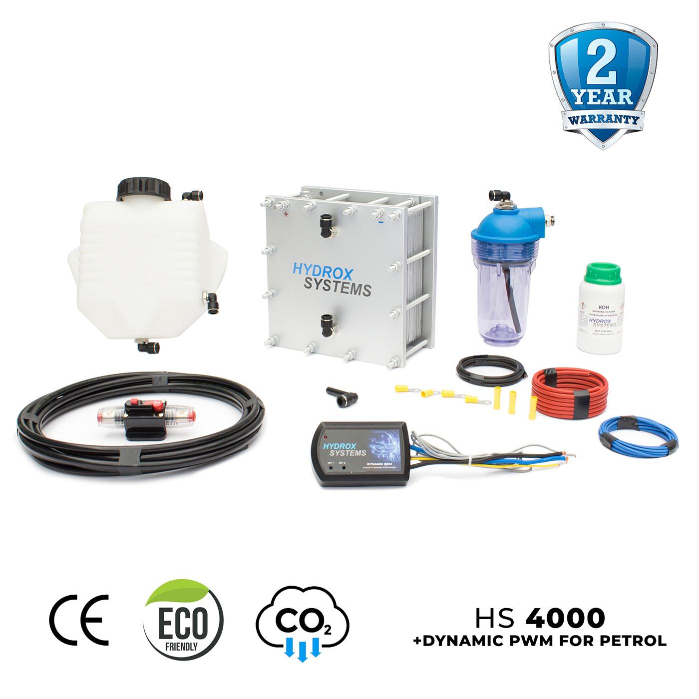 Hydrogen System with Dynamic PWM for Petrol