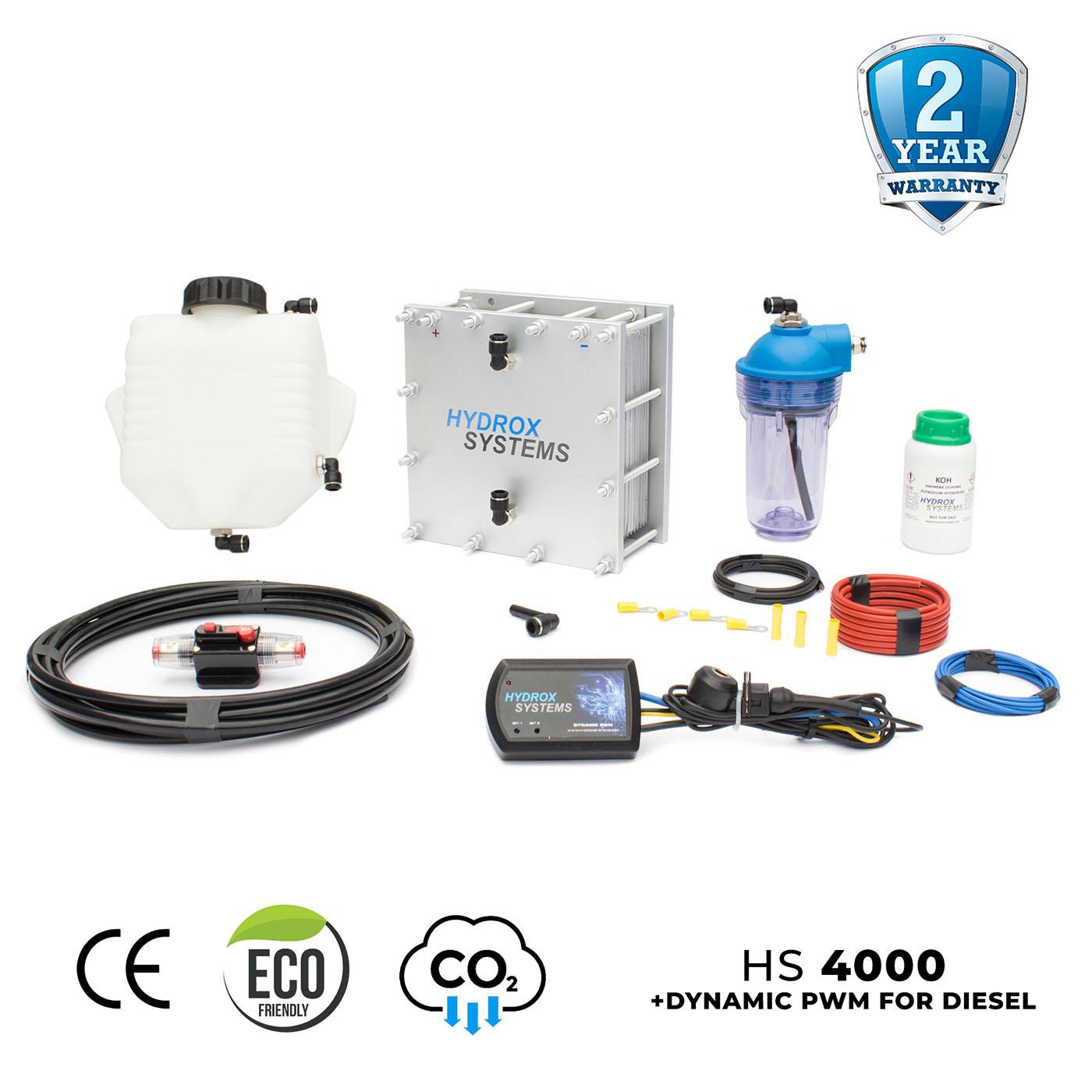 hho kit with diesel pwm
