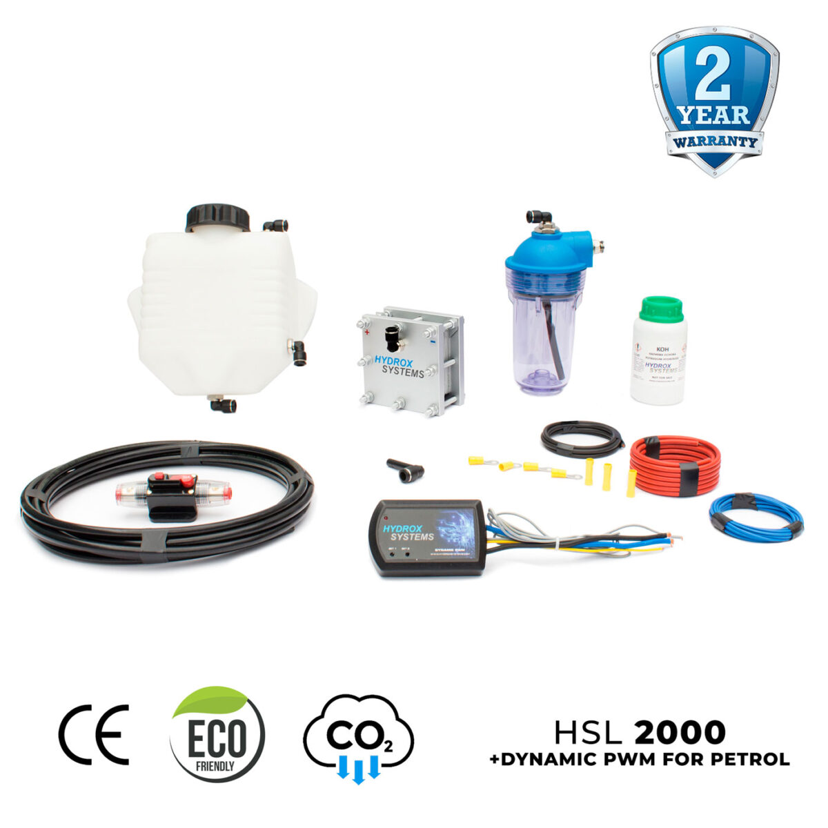 reduce emissions with hho kit